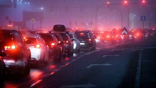 Una congestión de automóviles (archivo) - Sputnik Mundo
