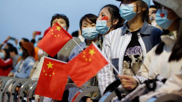 Celebración del 71 aniversario de la fundación de la República Popular China - Sputnik Mundo