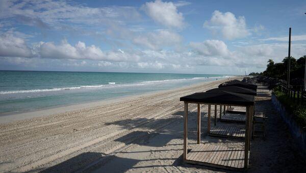 Una playa en Varadero, Cuba - Sputnik Mundo