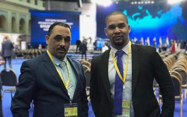 Hansell es corresponsal en Rusia de Prensa Latina y Telesur - Sputnik Mundo