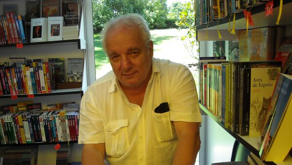 Javier Reverte, escritor español  - Sputnik Mundo