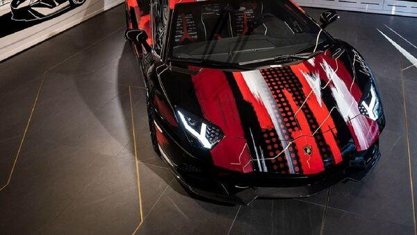 Lamborghini Aventador S Yamamoto - Sputnik Mundo