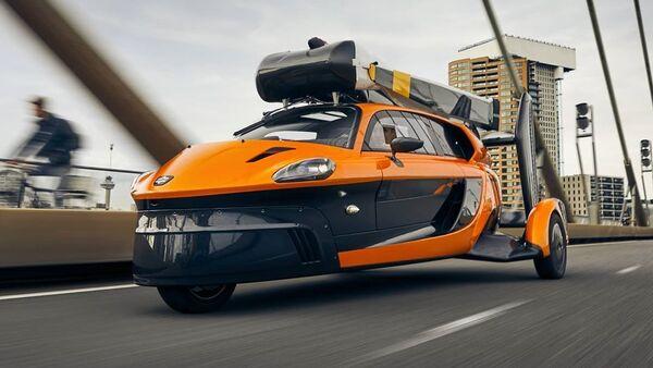 El auto volador PAL-V Liberty - Sputnik Mundo