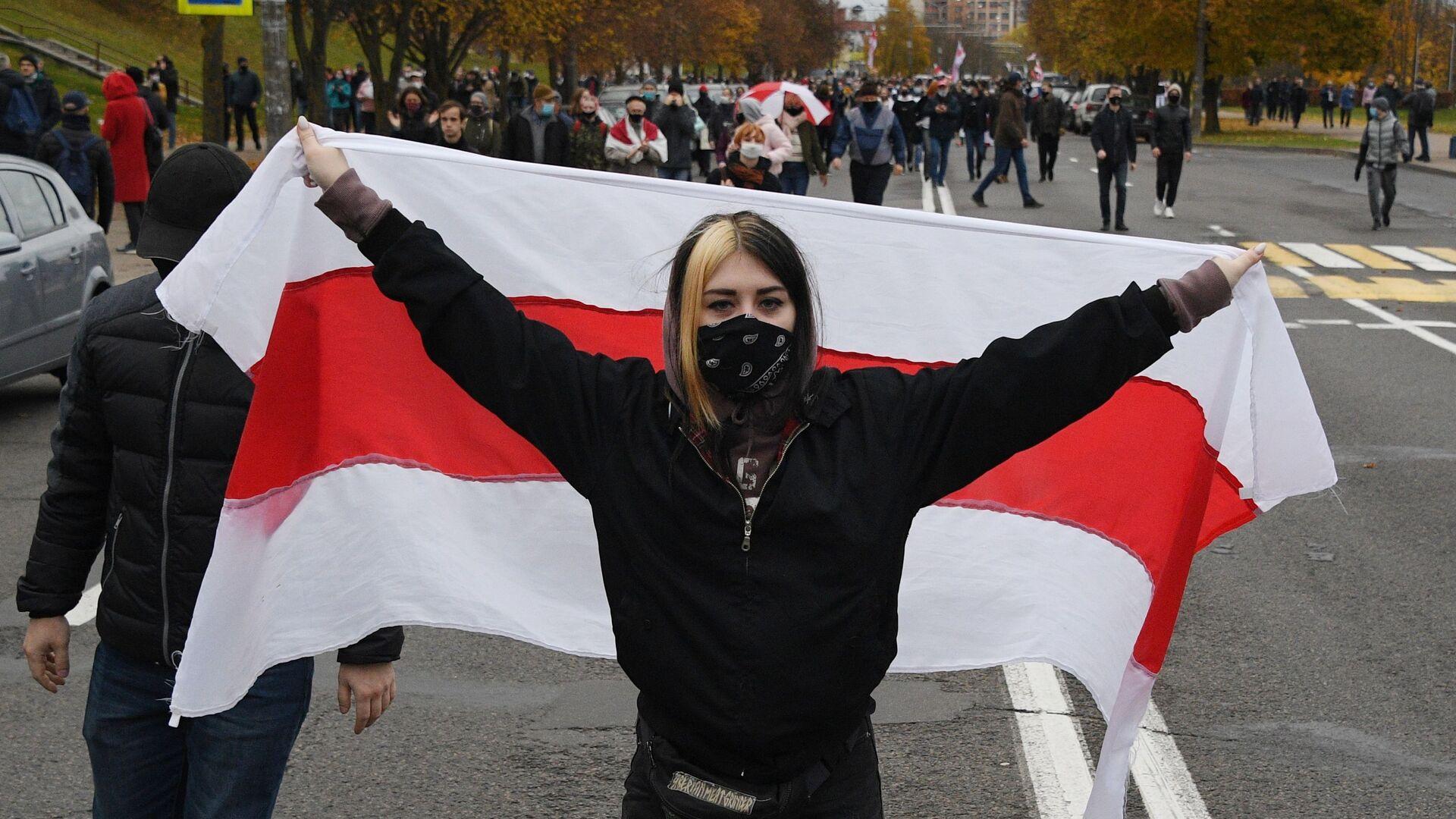 Protestas en Misnk, Bielorrusia - Sputnik Mundo, 1920, 11.02.2021