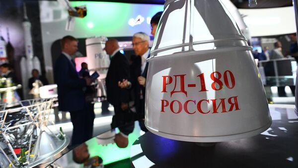 El motor de cohete de dos componentes líquido RD-180 - Sputnik Mundo