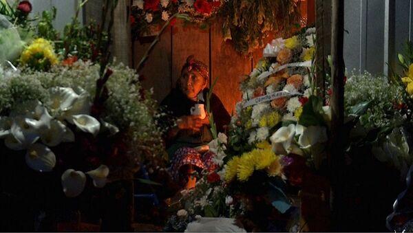 Funeral mapuche en Chile - Sputnik Mundo