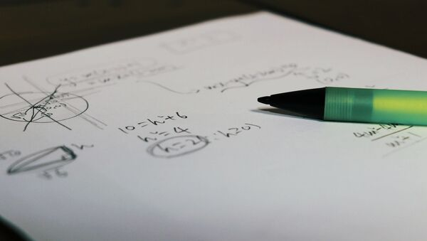 Matemática. Problema matemático. Imagen referencial - Sputnik Mundo