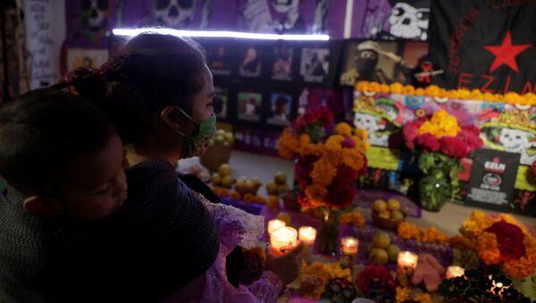 Día de los Muertos en México - Sputnik Mundo