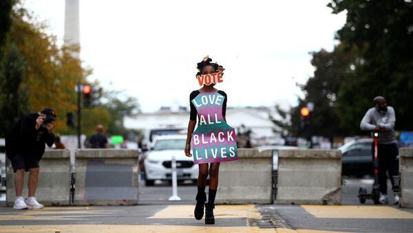 Movimiento Black Lives Matter en EEUU - Sputnik Mundo