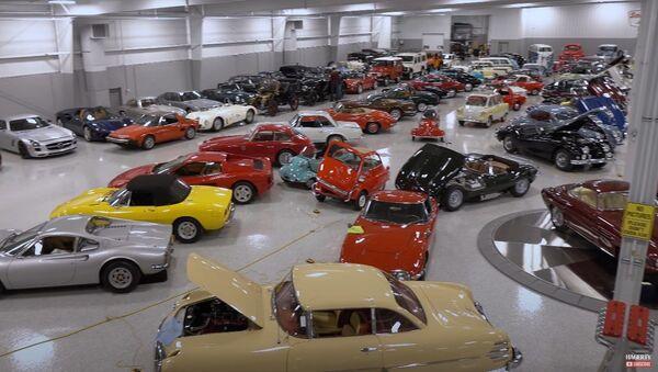 Colección de 240 autos raros de Najeeb Khan - Sputnik Mundo