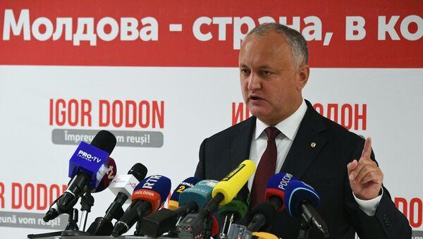 Igor Dodon, el mandatario moldavo - Sputnik Mundo