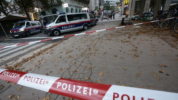 Situación tras el atentado en Viena, Austria - Sputnik Mundo