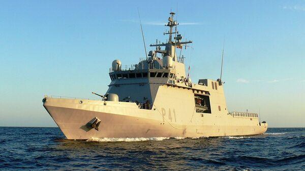 Buque de Acción Marítima (BAM) de la Armada Española (archivo) - Sputnik Mundo
