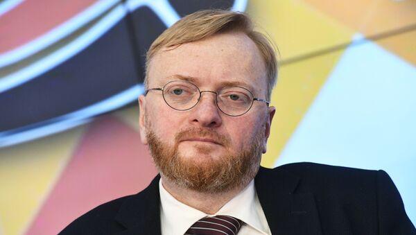 Vitali Milónov, el diputado de la Duma de Estado rusa - Sputnik Mundo