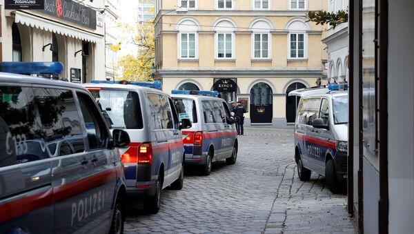 Lugar del atentado en Viena, Austria - Sputnik Mundo