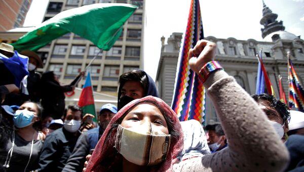 Las elecciones en Bolivia - Sputnik Mundo