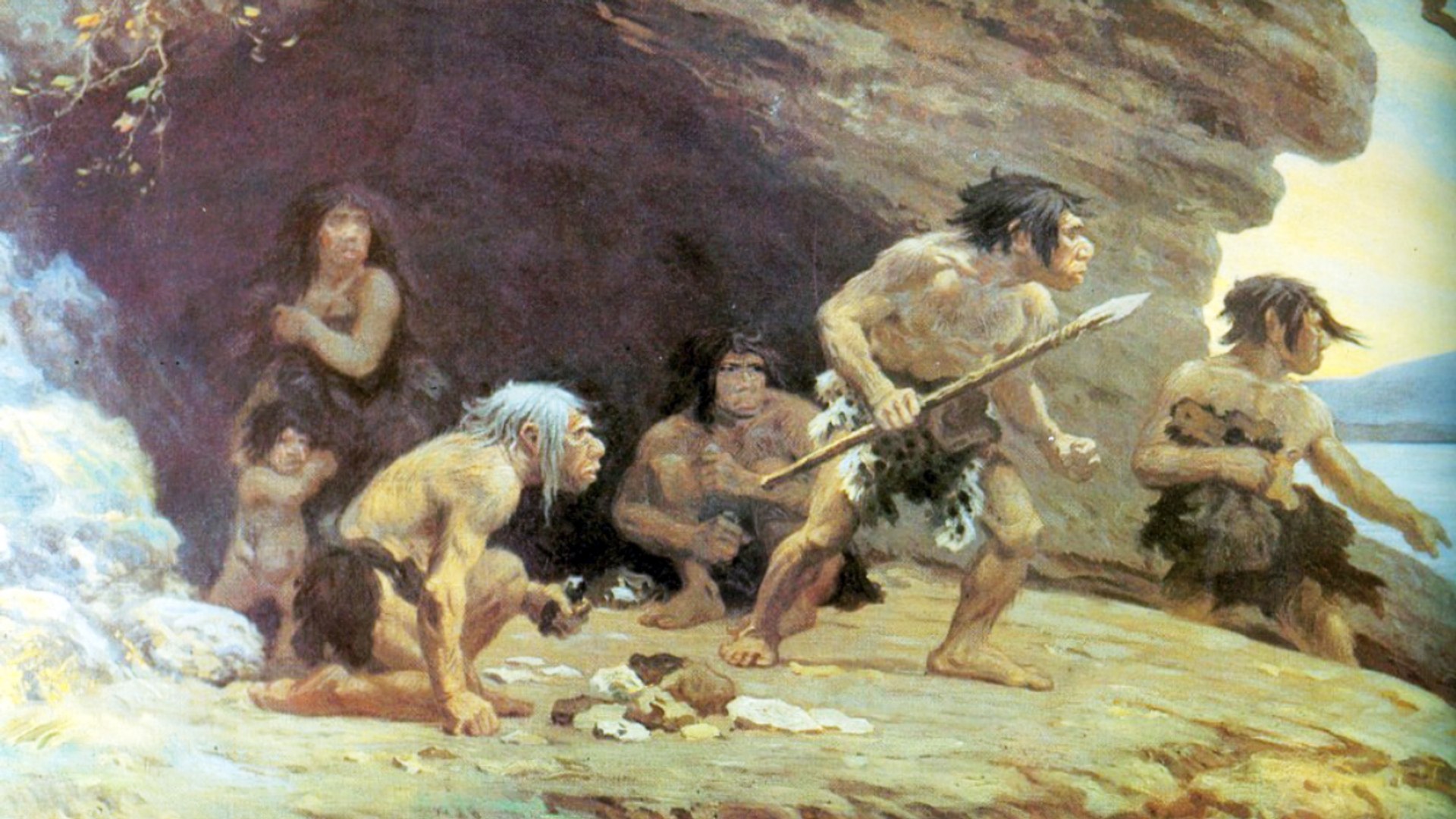 Los neandertales, imagen ilustrativa - Sputnik Mundo, 1920, 12.02.2021