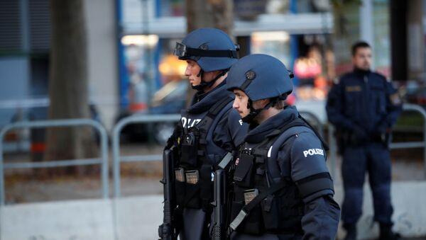 La Policía en Viena, Austria - Sputnik Mundo