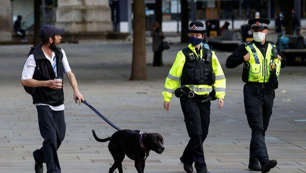 La Policía en el Reino Unido - Sputnik Mundo
