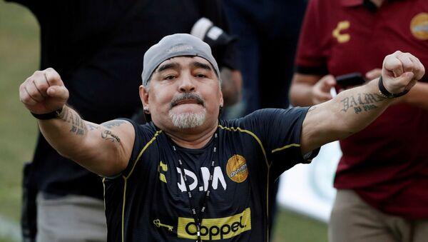 Diego Maradona, exfutbolista argentino - Sputnik Mundo