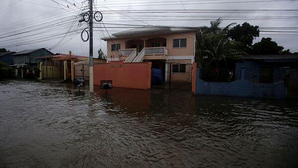Consecuencias del huracán Eta en Tela, Honduras - Sputnik Mundo