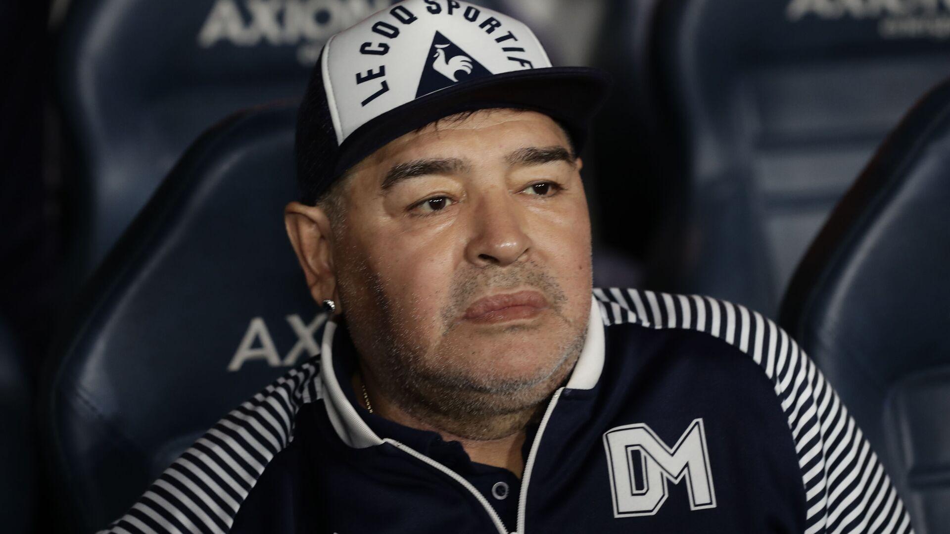 Diego Armando Maradona, exfutbolista argentino - Sputnik Mundo, 1920, 04.05.2021