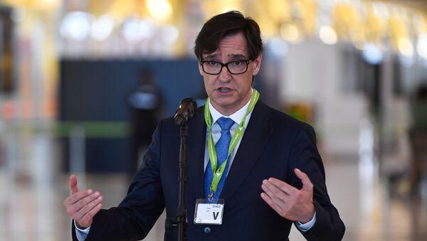 Salvador Illa, ministro de Sanidad de España - Sputnik Mundo
