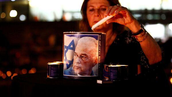 Israel conmemora el 25 aniversario del asesinato del primer ministro Isaac Rabin - Sputnik Mundo