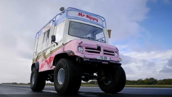 La furgoneta de helados Mr Nippy  - Sputnik Mundo