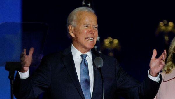 Joe Biden, candidato presidencial demócrata de Estados Unidos - Sputnik Mundo