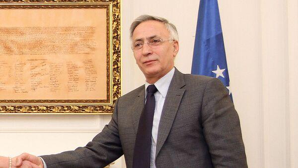 Jakup Krasniqi, expresidente del parlamento de Kosovo - Sputnik Mundo