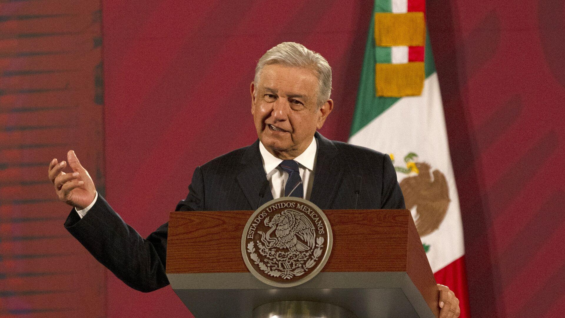 Andrés Manuel López Obrador, presidente de México - Sputnik Mundo, 1920, 04.12.2020