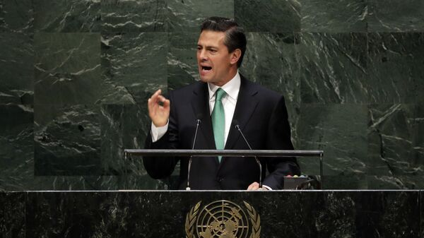 Enrique Peña Nieto, expresidentes de México - Sputnik Mundo