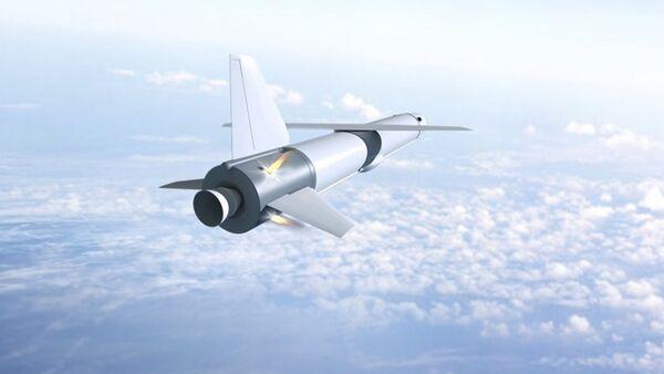 La ilustración del primer misil reutilizable del crucero ruso 'Krylo-SV' - Sputnik Mundo