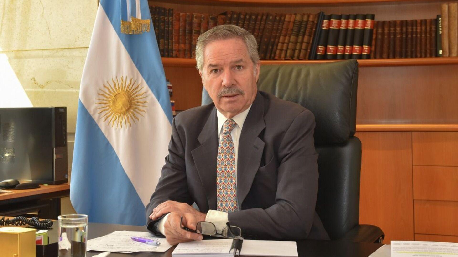 Felipe Solá, el ministro argentino de Relaciones Exteriores  - Sputnik Mundo, 1920, 05.07.2021