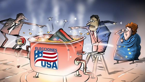 ¿Harakiri? EEUU juega con su Constitución ante la mirada preocupada de la Unión Europea - Sputnik Mundo