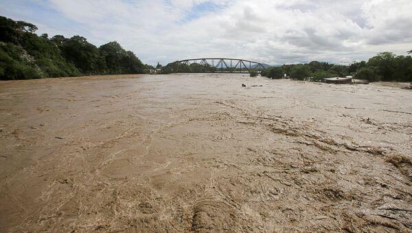 Consecuencias del huracán Eta en Honduras - Sputnik Mundo