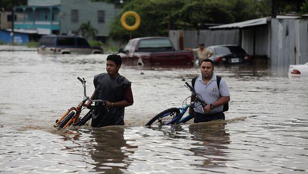 Consecuencias de huracán Eta - Sputnik Mundo