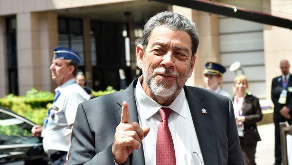 Ralph Gonsalves, primer ministro de San Vicente y las Granadinas - Sputnik Mundo