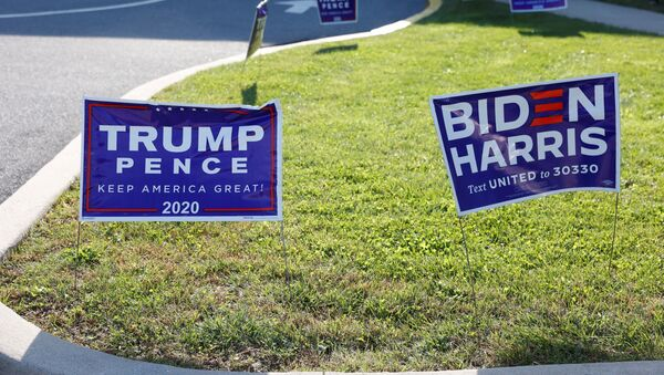 Elecciones presidenciales en EEUU - Sputnik Mundo