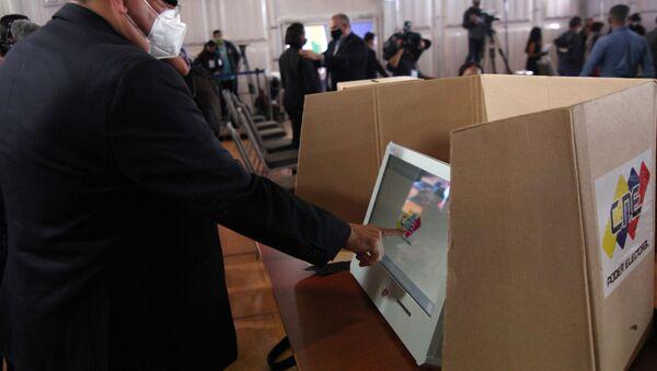 Preparaciones para las elecciones parlamentarias en Venezuela - Sputnik Mundo