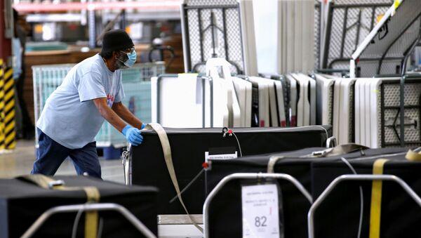 Conteo de votos en Nevada tras las elecciones en EEUU - Sputnik Mundo