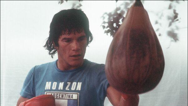 Carlos Monzón, boxeador argentino - Sputnik Mundo