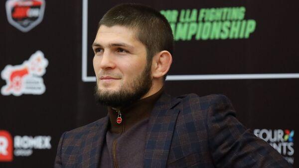 Khabib Nurmagomedov, luchador de artes marciales ruso - Sputnik Mundo