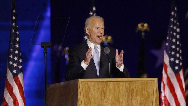 Joe Biden, candidato presidencial por el Partido Demócrata - Sputnik Mundo