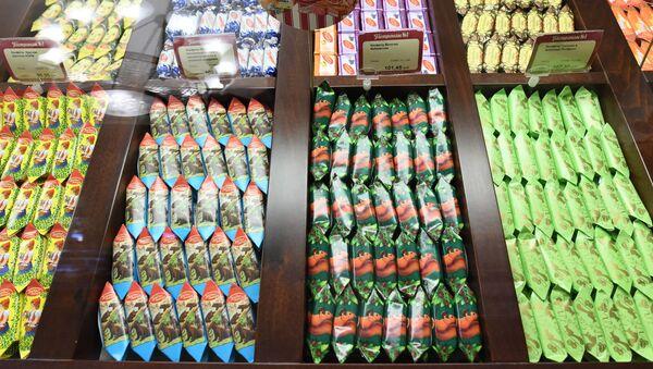 Los dulces rusos en una tienda - Sputnik Mundo