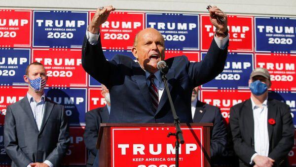 Rudy Giuliani, abogado de Donald Trump, presidente de EEUU - Sputnik Mundo