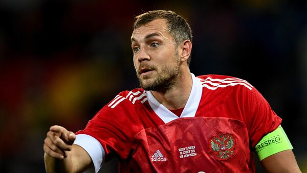 Artiom Dziuba, futbolista ruso - Sputnik Mundo