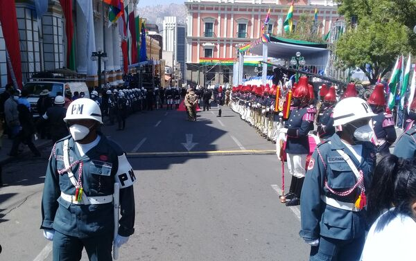 Las celebraciónes de la asunción de Luis Arce en Bolivia - Sputnik Mundo