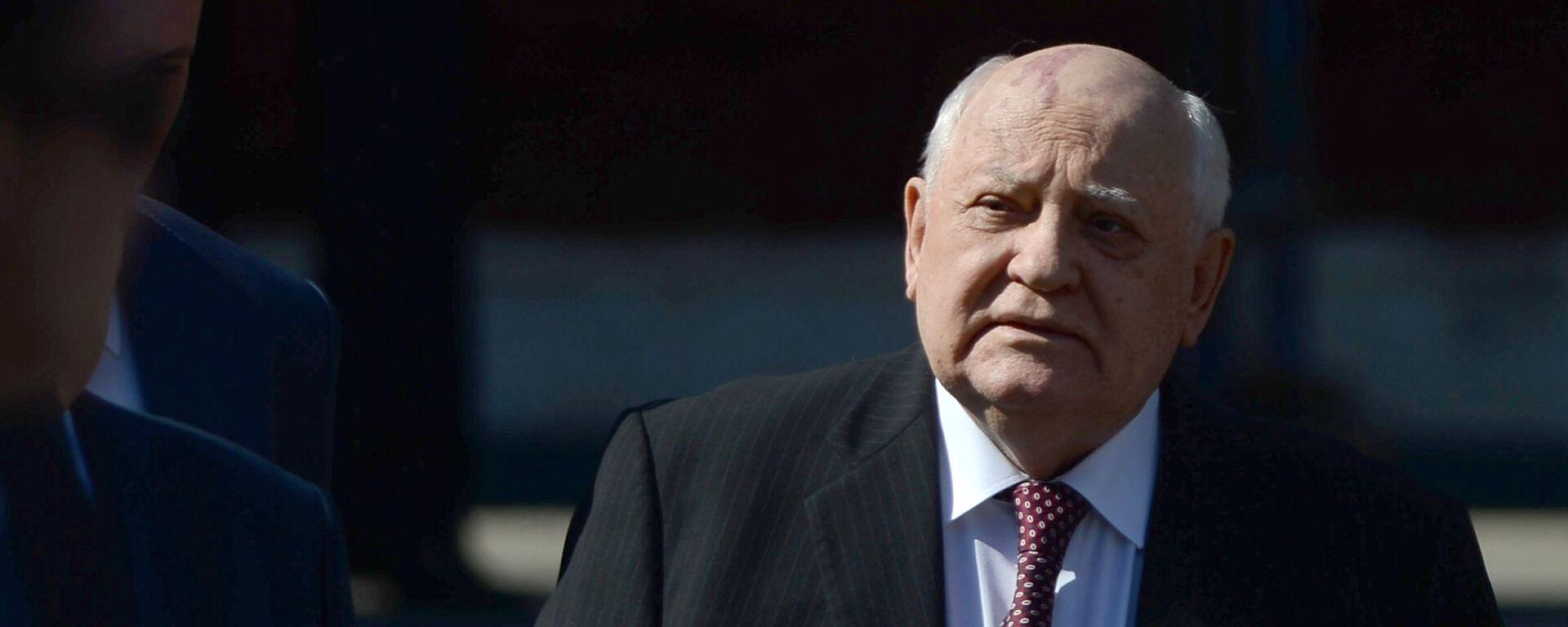 Mijaíl Gorbachov, expresidente de la Unión Soviética - Sputnik Mundo, 1920, 01.03.2021
